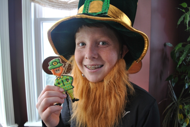 Sean and leprechaun